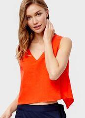 Кофта, блузка, футболка женская O'stin Льняной топ LS1SB5-16