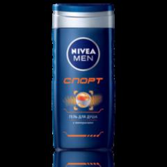Уход за телом NIVEA Мужской гель для душа «Спорт»