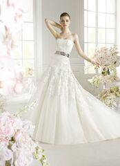 Свадебное платье напрокат Avenue Diagonal (Pronovias) Свадебное платье OREON