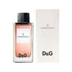 Парфюмерия Dolce&Gabbana Туалетная вода 3 L'imperatrice, 50 мл