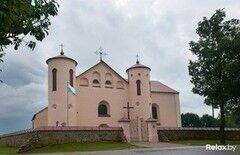 Достопримечательность Костел Святого Иоанна Крестителя Фото