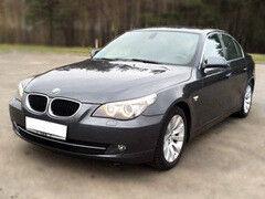 Прокат авто Прокат авто BMW 5 E60 черный 2009
