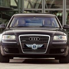 Прокат авто Прокат авто с водителем, Audi A8 D3 Чёрного цвета