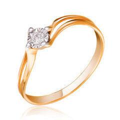 Ювелирный салон Jeweller Karat Кольцо золотое с бриллиантами арт. 3214599/9