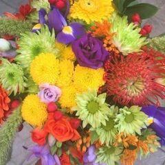 Магазин цветов Прекрасная садовница Букет позитивный