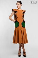 Платье женское Pintel™ Миди-платье свободного силуэта YAMARA