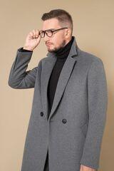 Верхняя одежда мужская Etelier Пальто мужское демисезонное 1М-8908-1