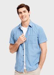 Кофта, рубашка, футболка мужская O'stin Рубашка с короткими рукавами MS1SA3-61