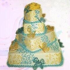 Торт Милано Свадебный торт №8