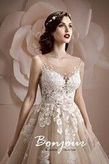 Свадебный салон Bonjour Свадебное платье «Jennifer» из коллекции ALLEGRESSE 2017