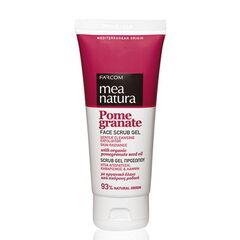 Уход за лицом Farcom Скраб для лица с маслом граната Mea natura Pomegranate 100ml