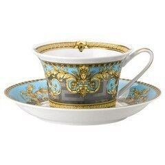 Подарок Rosenthal Чашка чайная с блюдцем Versace/ Prestige Gala, цвет - синий
