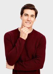 Кофта, рубашка, футболка мужская O'stin Джемпер с «обманкой» MK4T56-R9