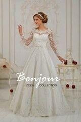 Свадебное платье напрокат А-силуэт Bonjour Платье свадебное «Liora» из коллекции EDEM 2016