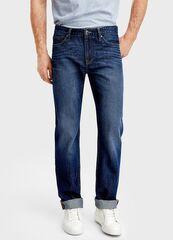 Брюки мужские O'stin Базoвые прямые джинсы MP4T31-D3