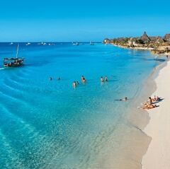 Туристическое агентство VIP TOURS Пляжный aвиатур в Тaнзанию, Занзибар, The Nungwi Inn Hotel 3*