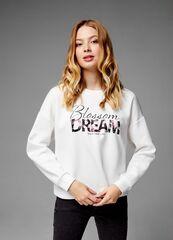 Кофта, блузка, футболка женская O'stin Джемпер с лентой на спине женский LT1U32-02