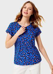 Кофта, блузка, футболка женская O'stin Футболка с принтом «леопард» женская LT4UB3-63