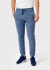 Брюки мужские O'stin Мужские брюки-джоггеры из двухцветного пике ML4V31-65