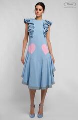 Платье женское Pintel™ Миди-платье свободного силуэта ETUÜNA