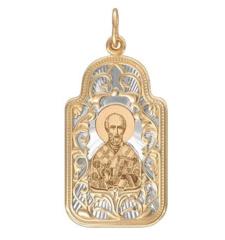 Ювелирный салон Sokolov Подвеска «Николай Чудотворец» 103999
