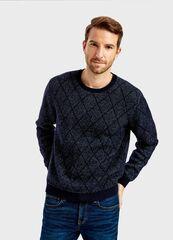 Кофта, рубашка, футболка мужская O'stin Джемпер в ромбы MK1T63-69