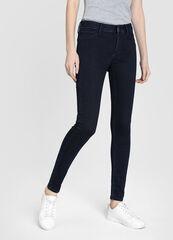 Брюки женские O'stin Суперузкие женские джинсы тёмно-синего цвета LPD103-D1
