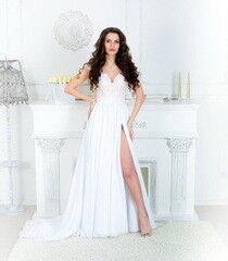 Свадебное платье напрокат ALIZA Платье свадебное «Jasmin» Soffito