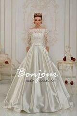 Свадебное платье напрокат А-силуэт Bonjour Платье свадебное «Camilla» из коллекции EDEM L'ECLAT 2016