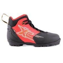Лыжный спорт Trek Ботинки лыжные Арена NNN (черный/красный)