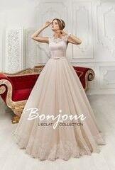 Свадебное платье напрокат А-силуэт Bonjour Платье свадебное «Lizi» из коллекции L'ECLAT 2016