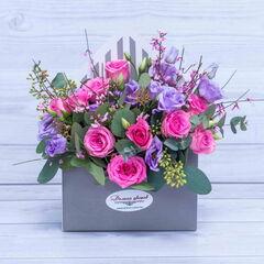 Магазин цветов Долина цветов Цветочная композиция «Весенний ветер»