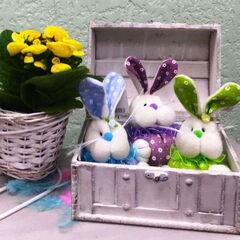Подарок Прекрасная садовница Мягкая игрушка «Кролик»
