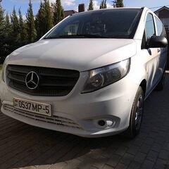 Прокат авто Аренда микроавтобуса Mercedes-Benz V-Class белый