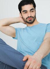 Кофта, рубашка, футболка мужская O'stin Базовая мужская футболка MT6W13-N4