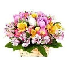 Магазин цветов Долина цветов Цветочная композиция «Калифорния»