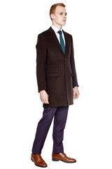 Верхняя одежда мужская HISTORIA Пальто мужское коричневое H01