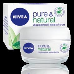 Уход за лицом NIVEA Увлажняющий дневной крем Pure&Natural