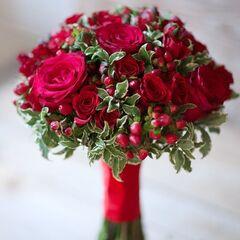 Магазин цветов Кошык кветак Букет свадебный №1