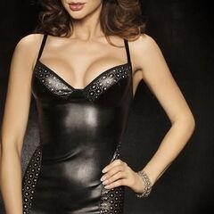 Интим-магазин Passion Платье Kimbra Black, L/XL