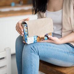Магазин сумок Vezze Кожаная женская сумка C00457