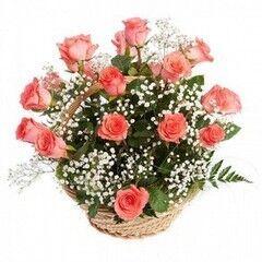 Магазин цветов Планета цветов Корзина с цветами №7