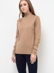 Кофта, блузка, футболка женская Sela Джемпер женский JR-114/2044-7442 кофейный