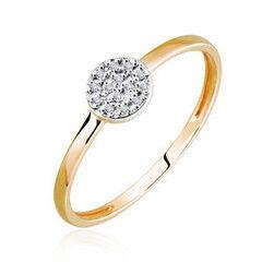 Ювелирный салон Jeweller Karat Кольцо золотое с бриллиантами арт. 1214650