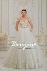 Свадебное платье напрокат А-силуэт Bonjour Платье свадебное «Avitel» из коллекции EDEM L'ECLAT 2016