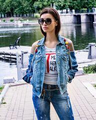 b66d4d4c Купить джинсовую куртку в Минске. Женские джинсовые куртки в ...