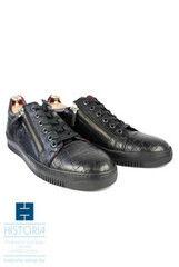Обувь мужская HISTORIA Туфли мужсские, сникерсы с молниями, черные