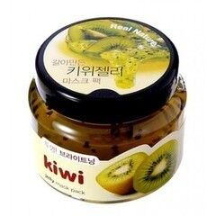 Уход за лицом The Face Shop Маска-пилинг для лица с экстрактом киви Real Nature Kiwi Jelly Mask Pack