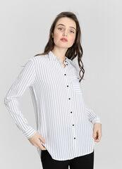 Кофта, блузка, футболка женская O'stin Вискозная женская блузка LS1W31-00