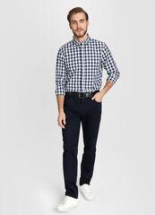 Кофта, рубашка, футболка мужская O'stin Рубашка мужская в клетку Vichy MS4W14-68